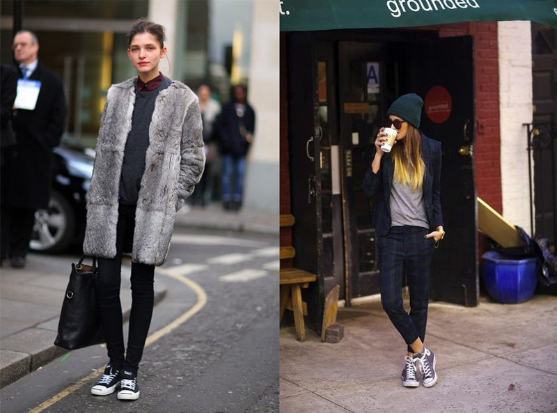 Fashion tips: come abbinare le converse Lèggi On Line